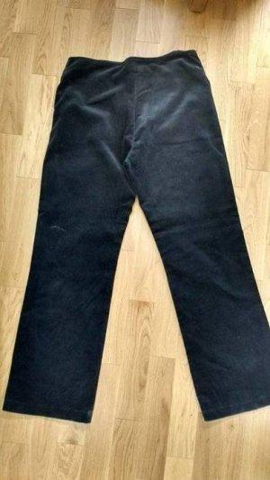 Pantalone di velluto a coste nero
