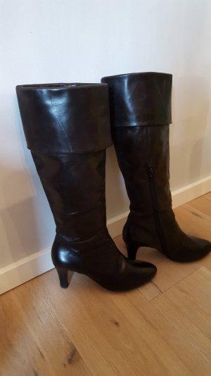 Schwarze cox Stiefel in Größe 38