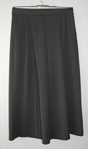 Ralph Lauren Pantalone culotte nero Tessuto misto