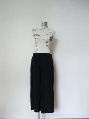 Vero Moda Falda pantalón de pernera ancha negro