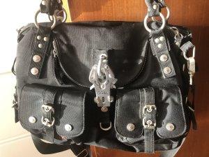 George Gina & Lucy Shoulder Bag black nylon