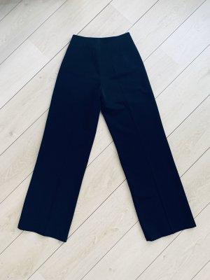 Jalü Pantalone a vita alta nero Cotone