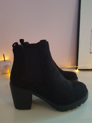 Schwarze Damen Boots