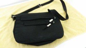 Schwarze damen Handtasche