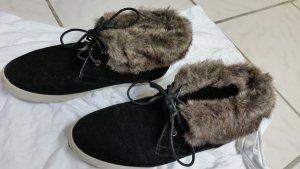 Schwarze damen Schuhe