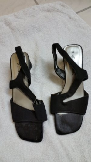 Gino ventori High-Heeled Sandals black