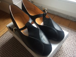 Schwarze Damen Schuhe Größe 40/ 6 ½