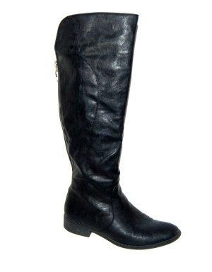 schwarze Damen Stiefel von Graceland Gr.38