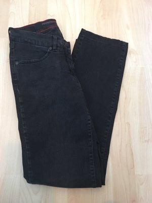 Toni Dress Tube jeans zilver-zwart