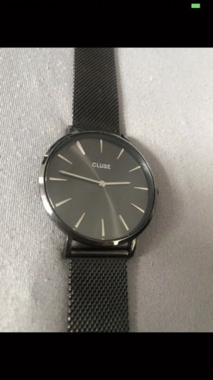 Cluse Watch With Metal Strap black