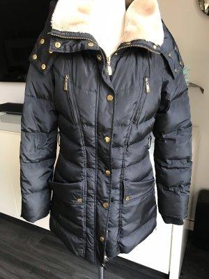 Schwarze Daunen Jacke von Vero Moda Gr 38