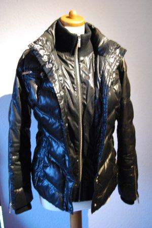 schwarze Daunen/Stepp Jacke von Pepe Jeans in Gr. S / 36