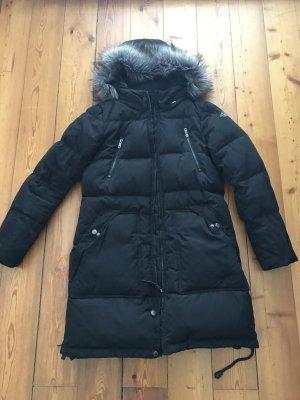 Schwarze Daunenjacke/Mantel von Only