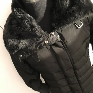 Mango Down Jacket black