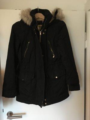 Zara Down Jacket black