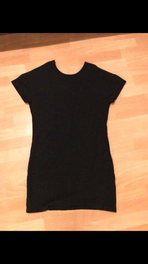 Schwarze Deep V Back Dress von NA-KD