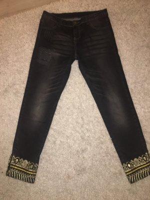 Desigual 7/8-jeans veelkleurig
