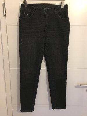 Bonita 7/8 Length Jeans black