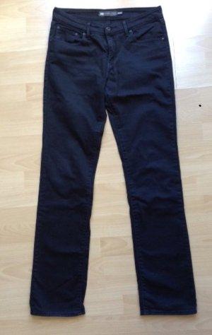 Schwarze Denim Jeans von Levi's, classic rise straight