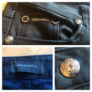 Schwarze Designer Jeans Dsquared2 S