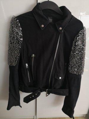 Zara Veste noir cuir