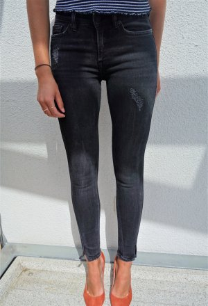 Schwarze Destroyed Jeans von All Saints
