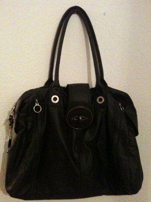 Schwarze Diesel Handtasche