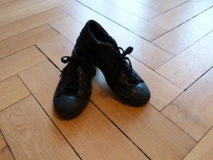 Schwarze Diesel-Sneakers (wie Chucks / Converse) - Gr. 39