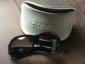 Schwarze Diesel Sonnenbrille