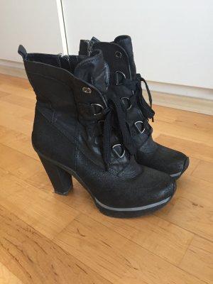 Schwarze DKNY Stiefeletten