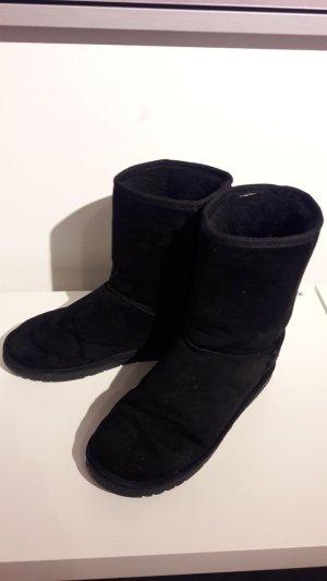Schwarze Dockers Boots
