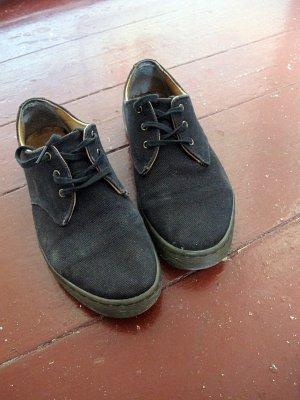 schwarze Dr Martens Canvas Sneaker, Gr. 38