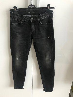 Drykorn Tube Jeans black-anthracite