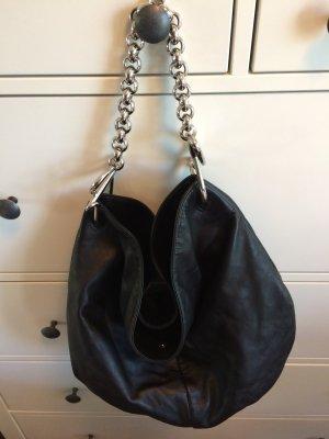 Schwarze Echtleder-Tasche von LOEWE München