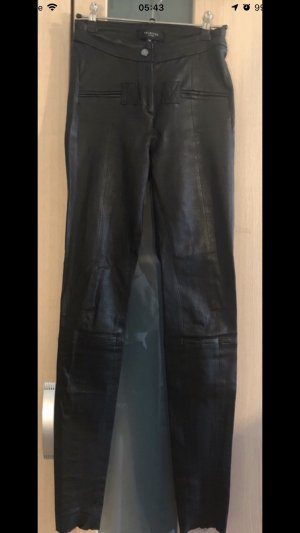 Selected Leather Trousers black