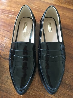 Schwarze edle Loafer in Lack Optik ❤️ neu ❤️