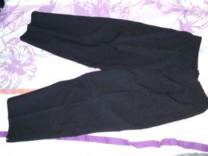 schwarze edle Stoffhose