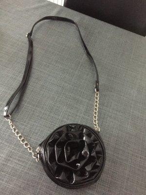 Schwarze edle Tasche