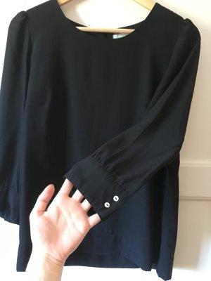 Schwarze elegante Bluse von H&M