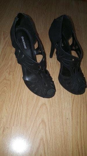 schwarze elegante Higheels