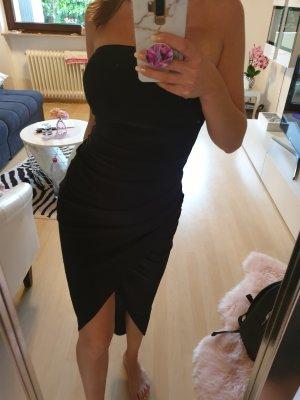 Schwarze élégante Kleid