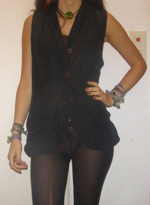 schwarze elegante Weste