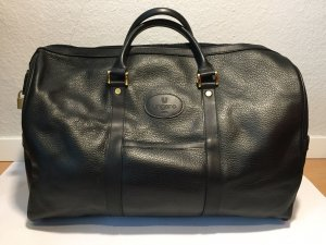 Ungaro Weekender Bag black leather