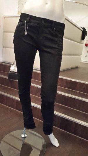 Schwarze enge Jeans imperial  Gr. 27
