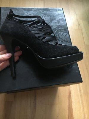 Schwarze extravagante High Heels