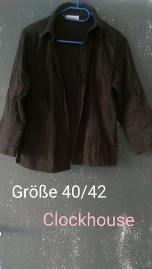 Schwarze feine Bluse