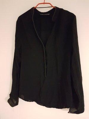 Schwarze feine Bluse von Zara