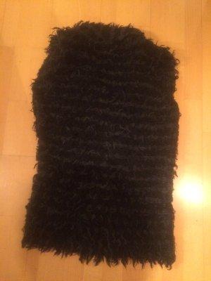 Schwarze Fellweste von Comma Größe 38