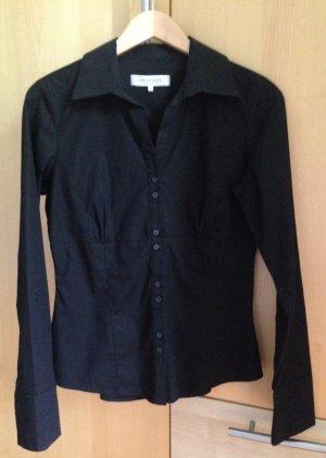 Schwarze figurbetonte Bluse C&A