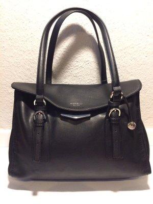 Schwarze Fiorelli Leder-Handtasche